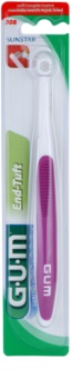 G.U.M End-Tuft Multivolume Toothbrush Soft