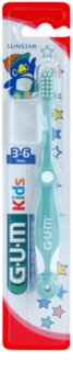 G.U.M Kids escova de dentes para crianças