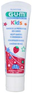 G.U.M Kids gel dentale per bambini con aroma di fragola