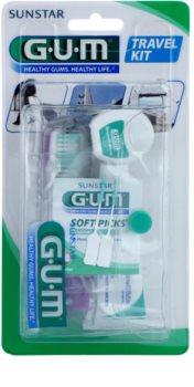G.U.M Travel Kit set pentru îngrijirea dentară I.