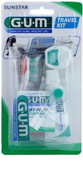 G.U.M Travel Kit Dental Care Set I.