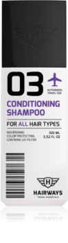 Hairways Travel Essentials shampoo detergente per tutti i tipi di capelli