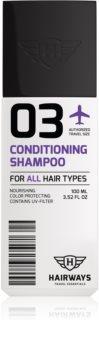 Hairways Travel Essentials tisztító sampon minden hajtípusra