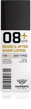 Hairways Travel Essentials balsam pentru barba after shave