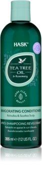 HASK Tea Tree Oil & Rosemary освежаващ балсам за суха и сърбяща кожа на главата