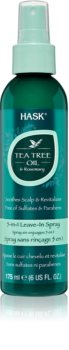 HASK Tea Tree Oil & Rosemary Leave-in Spray For Dry And Itchy Scalp