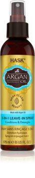 HASK Argan Oil спрей без отмиване за увредена коса