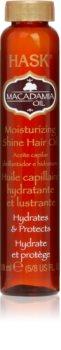 HASK Macadamia Oil hydratisierendes Öl für glänzendes und geschmeidiges Haar