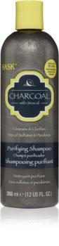 HASK Charcoal with Citrus Oil tisztító sampon a fej bőrsejtjeinek megújítására