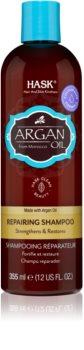 HASK Argan Oil Elvyttävä Hiustenpesuaine Vaurioituneille Hiuksille