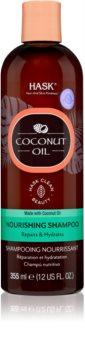 HASK Monoi Coconut Oil Pflegeshampoo für glänzendes und geschmeidiges Haar