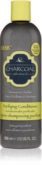 HASK Charcoal with Citrus Oil Balsam de curățare pentru refacerea scalpului