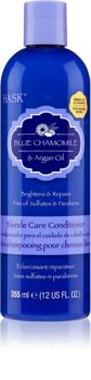 HASK Blue Chamomile & Argan Oil Toning Conditioner for Blonde Hair