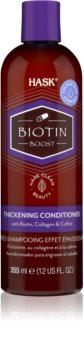 HASK Biotin Boost erősítő kondicionáló a hajtérfogat növelésére