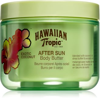 Hawaiian Tropic After Sun Body Butter met Hydraterende en Kalmerende Werking  After Sun