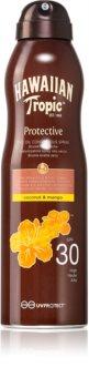 Hawaiian Tropic Protective száraz napozó olaj spray formában SPF 30