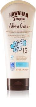 Hawaiian Tropic Aloha Care crema abbronzante SPF 15