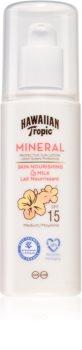 Hawaiian Tropic Mineral Sun Milk leite solar protetor SPF 15