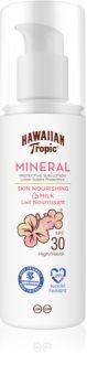 Hawaiian Tropic Mineral Sun Milk schützende Sonnenmilch SPF 30