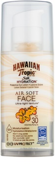 Hawaiian Tropic Silk Hydration Air Soft krem ochronny do twarzy SPF 30