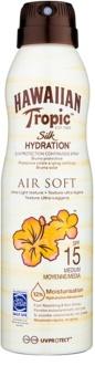 Hawaiian Tropic Silk Hydration Air Soft spray pentru bronzat SPF 15