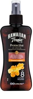 Hawaiian Tropic Protective αντηλιακό λάδι σε σπρέι SPF 8