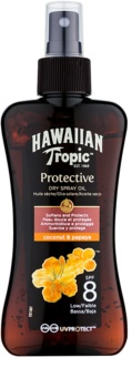 Hawaiian Tropic Protective Sololie på spray SPF 8