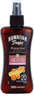 Hawaiian Tropic Protective olejek ochronny do opalania w sprayu SPF 20