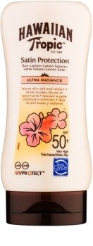 Hawaiian Tropic Satin Protection opaľovacie mlieko SPF 50+