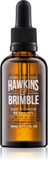 Hawkins & Brimble Natural Grooming Elemi & Ginseng подхранващо масло за брада и мустаци