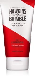 Hawkins & Brimble Natural Grooming Elemi & Ginseng gel detergente per il viso