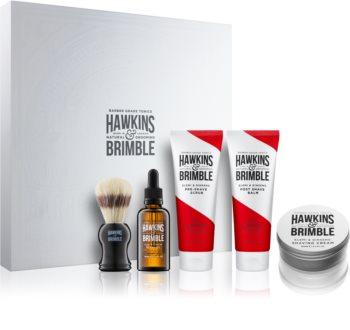 Hawkins & Brimble Natural Grooming Elemi & Ginseng kosmetická sada I. pro muže