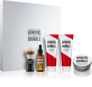 Hawkins & Brimble Natural Grooming Elemi & Ginseng kozmetički set I. za muškarce