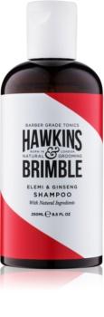 Hawkins & Brimble Natural Grooming Elemi & Ginseng champô para cabelo