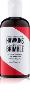 Hawkins & Brimble Natural Grooming Elemi & Ginseng szampon do włosów