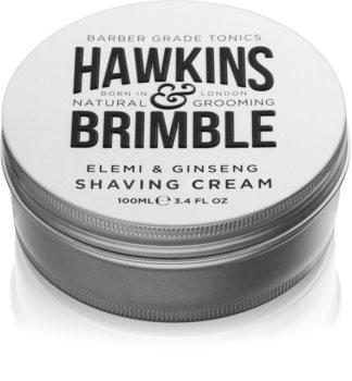 Hawkins & Brimble Natural Grooming Elemi & Ginseng cremă pentru bărbierit
