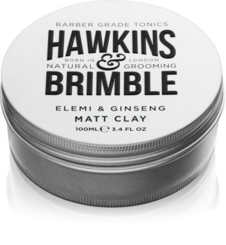 Hawkins & Brimble Natural Grooming Elemi & Ginseng pomadă matifiantă pentru păr