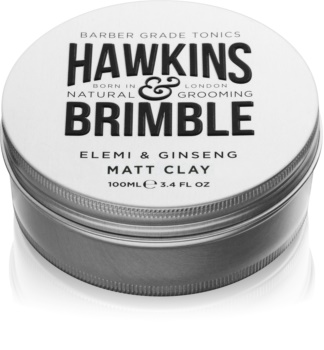 Hawkins & Brimble Natural Grooming Elemi & Ginseng pommade matifiante pour cheveux