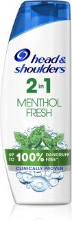 Head & Shoulders Menthol sampon anti-matreata 2 in 1