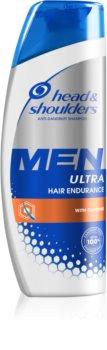 Head & Shoulders Ultra Hair Endurance korpásodás és hajhullás elleni sampon