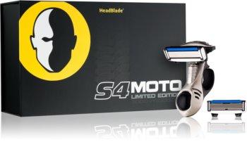 HeadBlade S4 Moto holicí strojek + náhradní břity 4 ks