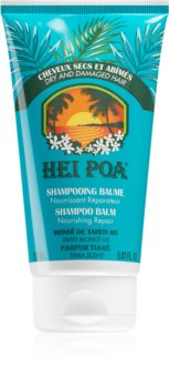 Hei Poa Tahiti Monoi Oil  Tiara Shampoo And Conditioner 2 In 1 for Dry and Damaged Hair