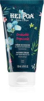 Hei Poa Tahiti Monoi Oil  Tropical Orchid creme de duche hidratante