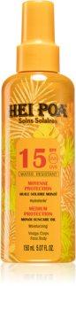 Hei Poa Monoi Suncare Öl-Spray für Bräunung LSF 15