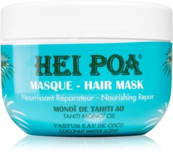 Hei Poa Tahiti Monoi Oil Voedende Haarmasker  voor Droog en Broos Haar