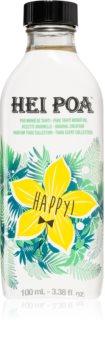 Hei Poa Tahiti Monoi Oil  Happy huile multifonctionnelle corps et cheveux