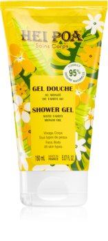 Hei Poa Tahiti Monoi Oil pflegendes Duschgel Für Gesicht und Körper