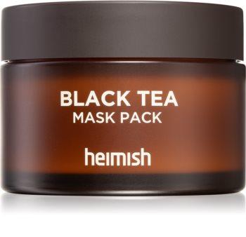 Heimish Black Tea zklidňující pleťová maska