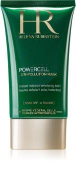 Helena Rubinstein Powercell Anti-Pollution Mask maschera esfoliante per rigenerare la superficie della pelle