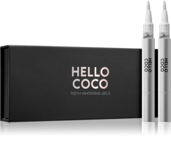 Hello Coco Teeth Whitening bieliace pero